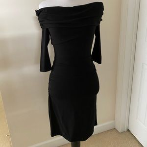 Off Shoulder little black dress